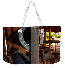 Weekender Tote Bag featuring the photograph Farriers Station by Chris Flees