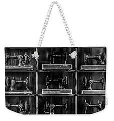 Fashion Industrialism - Bw Weekender Tote Bag by James Aiken