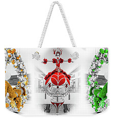 Fashion Show Christmas Ornament Collection Weekender Tote Bag