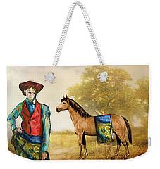 Fashionably Western Weekender Tote Bag