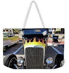 Fast Flames Weekender Tote Bag by Jimmy Ostgard