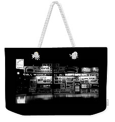 Fast Food Weekender Tote Bag by David Gilbert