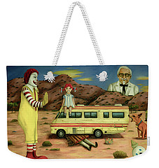 Fast Food Nightmare 5 The Mirage Weekender Tote Bag
