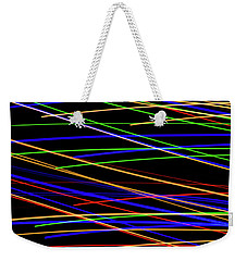 Fast Lanes Weekender Tote Bag
