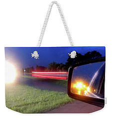 Fast Traffic Reflections #6242 Weekender Tote Bag