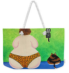 Fat Cats Weekender Tote Bag