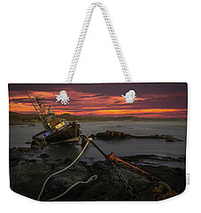 Fate Of The Point Estero Weekender Tote Bag