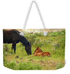 Father And Son Horse Love Weekender Tote Bag