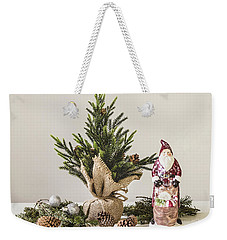 Weekender Tote Bag featuring the photograph Father Christmas by Kim Hojnacki