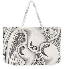 Father Heart Weekender Tote Bag