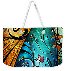 Fathoms Below Weekender Tote Bag