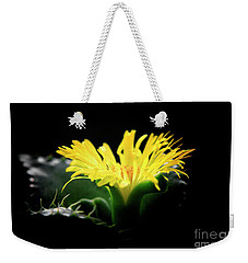 Faucaria Tigerina Tiger's Jaw Weekender Tote Bag by Charline Xia