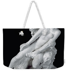 Faun And Nymph Weekender Tote Bag by Auguste Rodin