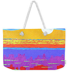 Fauvist Sunset Weekender Tote Bag