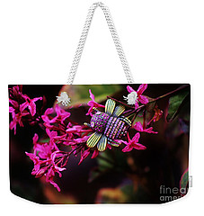Faux Bee Weekender Tote Bag by Craig Wood