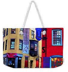 Faux Fauve Cityscape Weekender Tote Bag