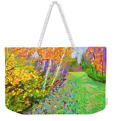 Favorite Fall Scene Weekender Tote Bag