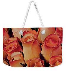 Favorite Roses Weekender Tote Bag by Michael Flood