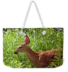 Fawn In The Meadow Weekender Tote Bag
