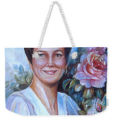 Faye Weekender Tote Bag by Patricia Schneider Mitchell