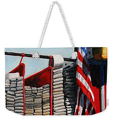 Fdny Engine 59 American Flag Weekender Tote Bag
