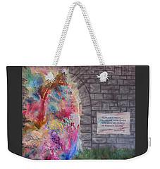 Fear Is The Prison... Weekender Tote Bag