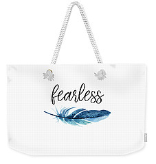 Fearless Weekender Tote Bag by Jaime Friedman