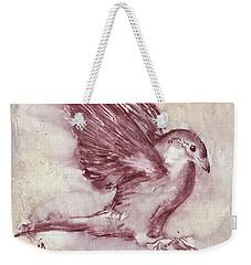 Fearless Weekender Tote Bag by Vali Irina Ciobanu