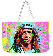Feather Chief Weekender Tote Bag by Gary Grayson