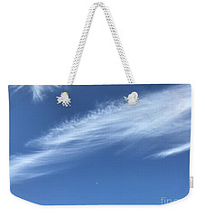 Feather In The Sky Weekender Tote Bag