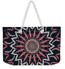 Feather Mandala 1 Weekender Tote Bag