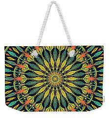 Feather Mandala II Weekender Tote Bag