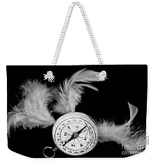 Feather Of The Sea Weekender Tote Bag