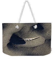 Feather On The Beach Weekender Tote Bag by Jane Eleanor Nicholas