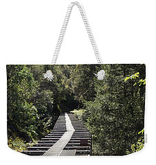 Weekender Tote Bag featuring the photograph Feather River Flumes by Sara Raber