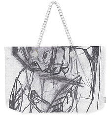 Feather Writer Weekender Tote Bag