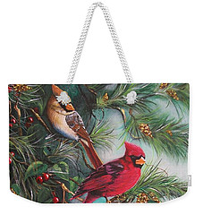 Feathered Friends  Weekender Tote Bag