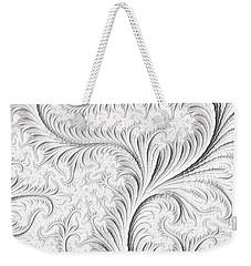 Feathered Weekender Tote Bag