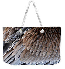 Feathers Cascade Weekender Tote Bag
