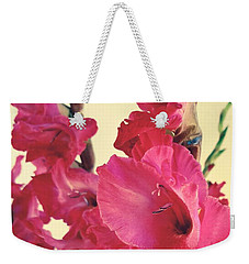 Feathers In Pink Weekender Tote Bag