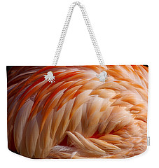 Feathers Of Pink Weekender Tote Bag