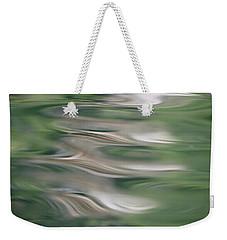 Water Feathers Weekender Tote Bag by Cathie Douglas
