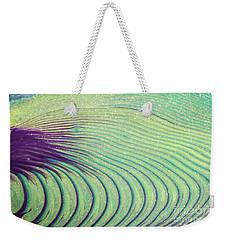 Feathery Ripples Weekender Tote Bag by Julie Clements