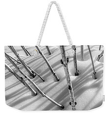Weekender Tote Bag featuring the photograph February In Minnesota by Jim Hughes