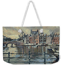 February Morning Along The Amstel Weekender Tote Bag