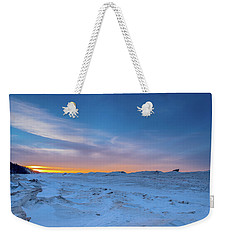 February Sunset Weekender Tote Bag