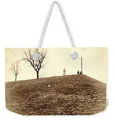 Weekender Tote Bag featuring the photograph Federal Hill by Brian Wallace