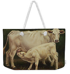 Feeding In The Forest Weekender Tote Bag