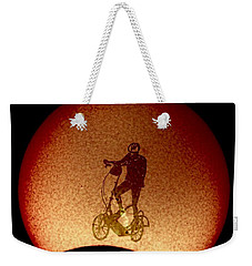 Feel The Burn, Elliptigo Eclipse Weekender Tote Bag