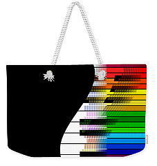 Feel The Music Weekender Tote Bag by Klara Acel